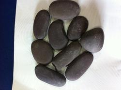 Natural Black Pebbles Stone