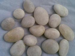 Natural  K White River Pebble Stone