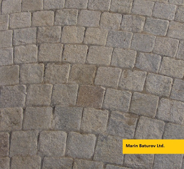 Gneiss Gloria paves stone pavers
