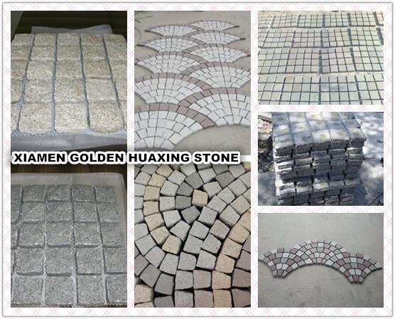 backnet granite paving stone