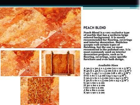 peach blend