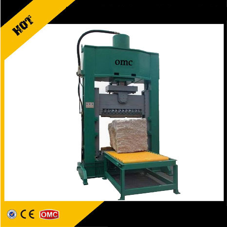 Natural split cube stone cutting machine