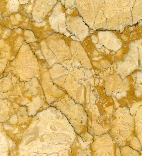 Gold mesh yellow marble blocks for table top staircase