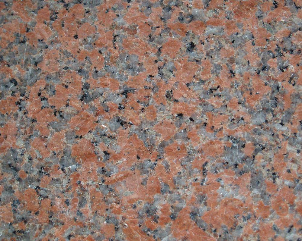 Maple Leaf Red Granite Slabs Granite Tiles Customize Cutting Size