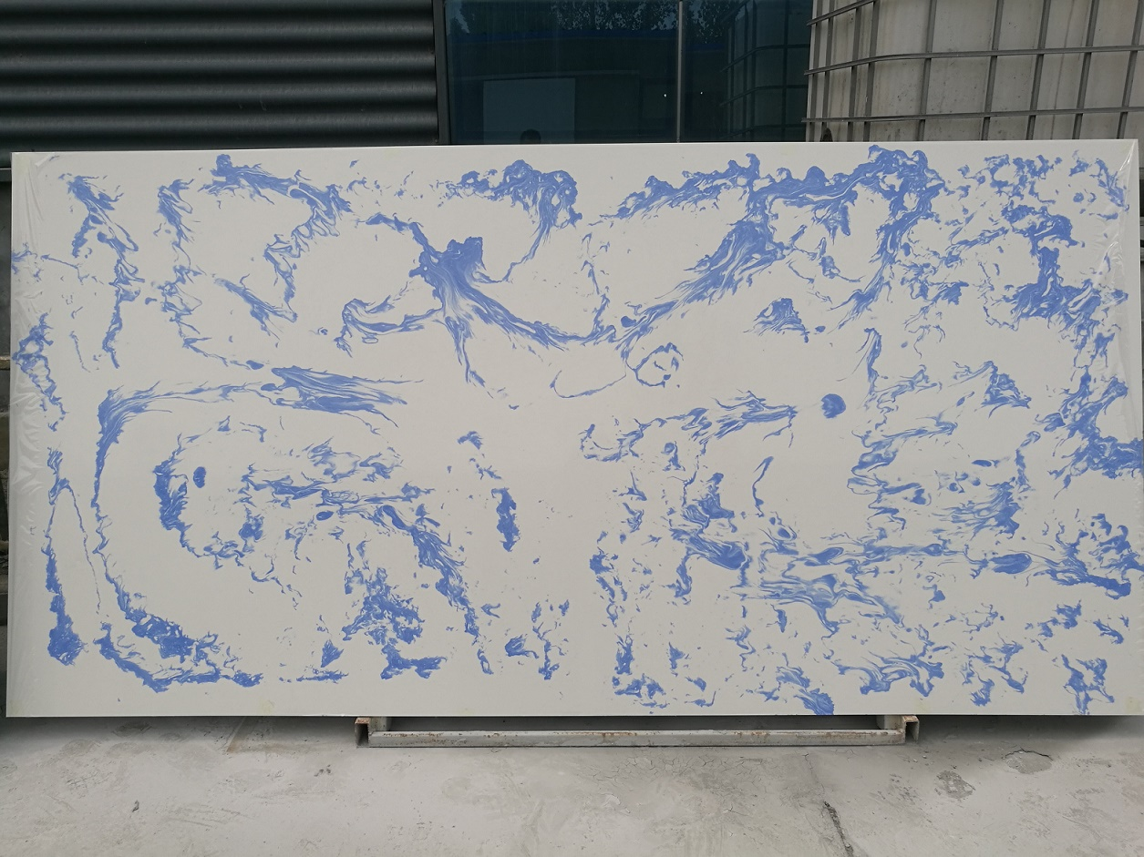 Sparkle Color Artificial Quartz Stone Slabs