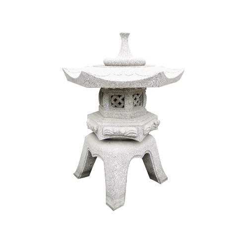 granite carved stone japanese style lantern JN-002
