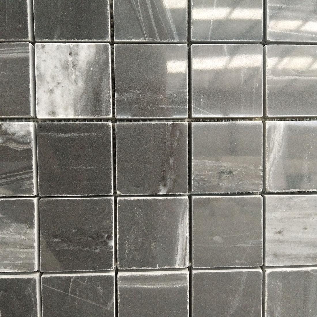 black marble mosaics tiles 12*12