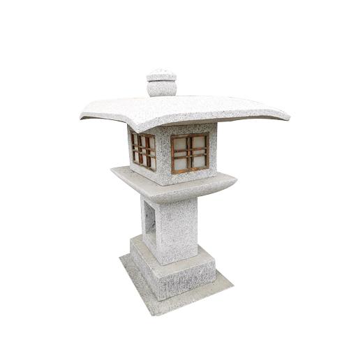 granite carved stone japanese style lantern JN-003