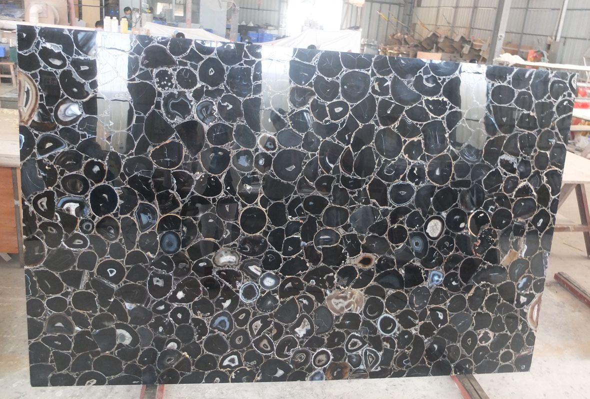 Semi Precious Black Agate