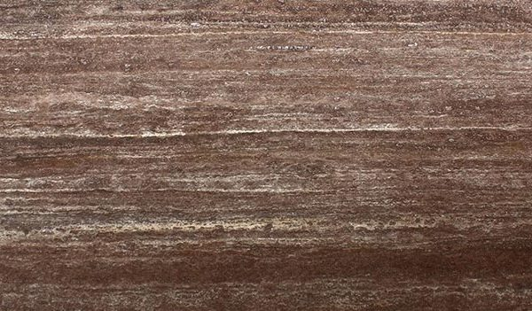 brown travertine colors