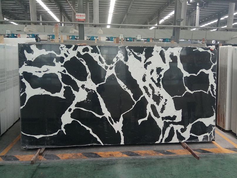 Marble Like Engineered Quartz Stone Slabs