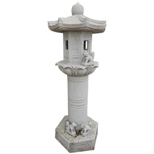 granite carved japanese style stone lantern JN-009