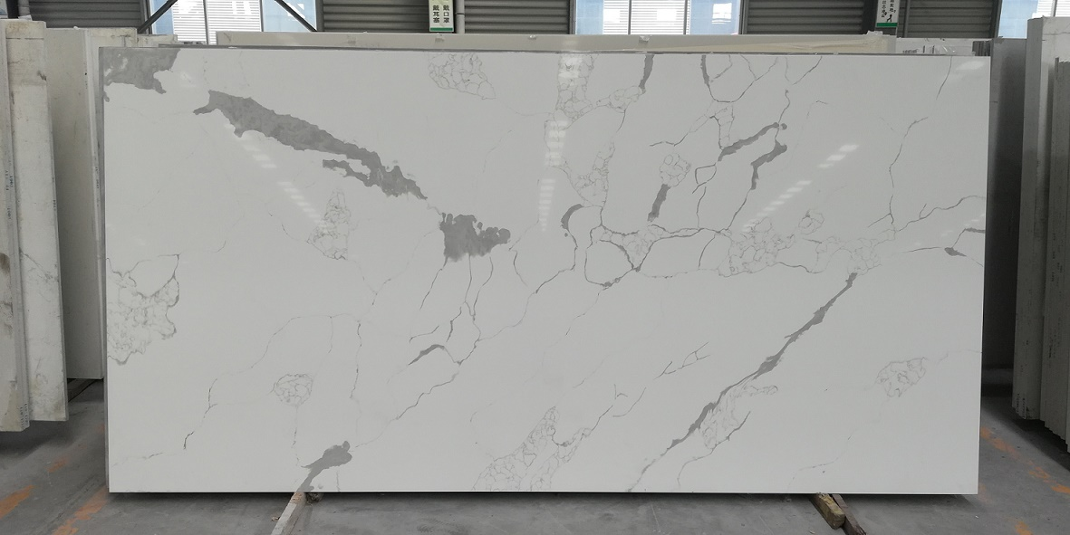 Calacatta quartz slabs factory China