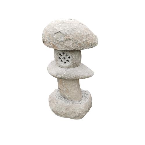 granite carved stone japanese style lantern JN-005