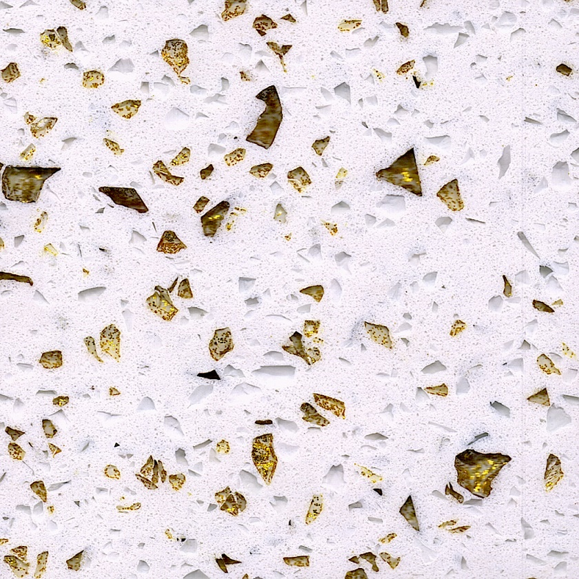 Gold Grits Engineered Quartz Stone