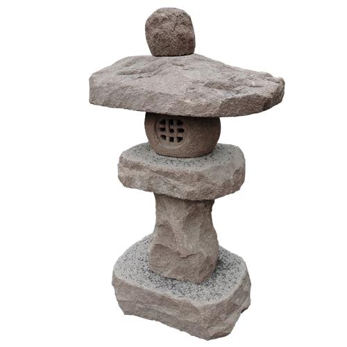 granite carved stone japanese style lantern JN-006