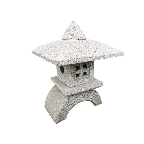 granite carved japanese style stone lantern JN-010