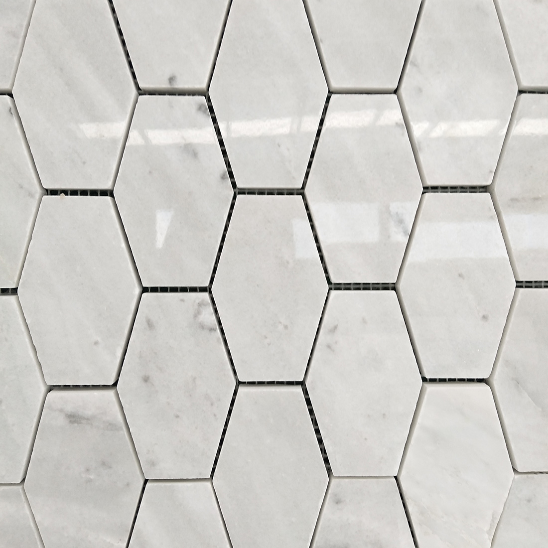 White Marble Mosaic Tiles