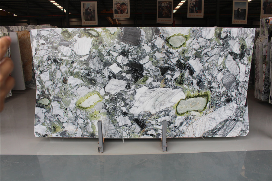 Ice Connect Marble Ice Green Marble Slabs China Green Marble