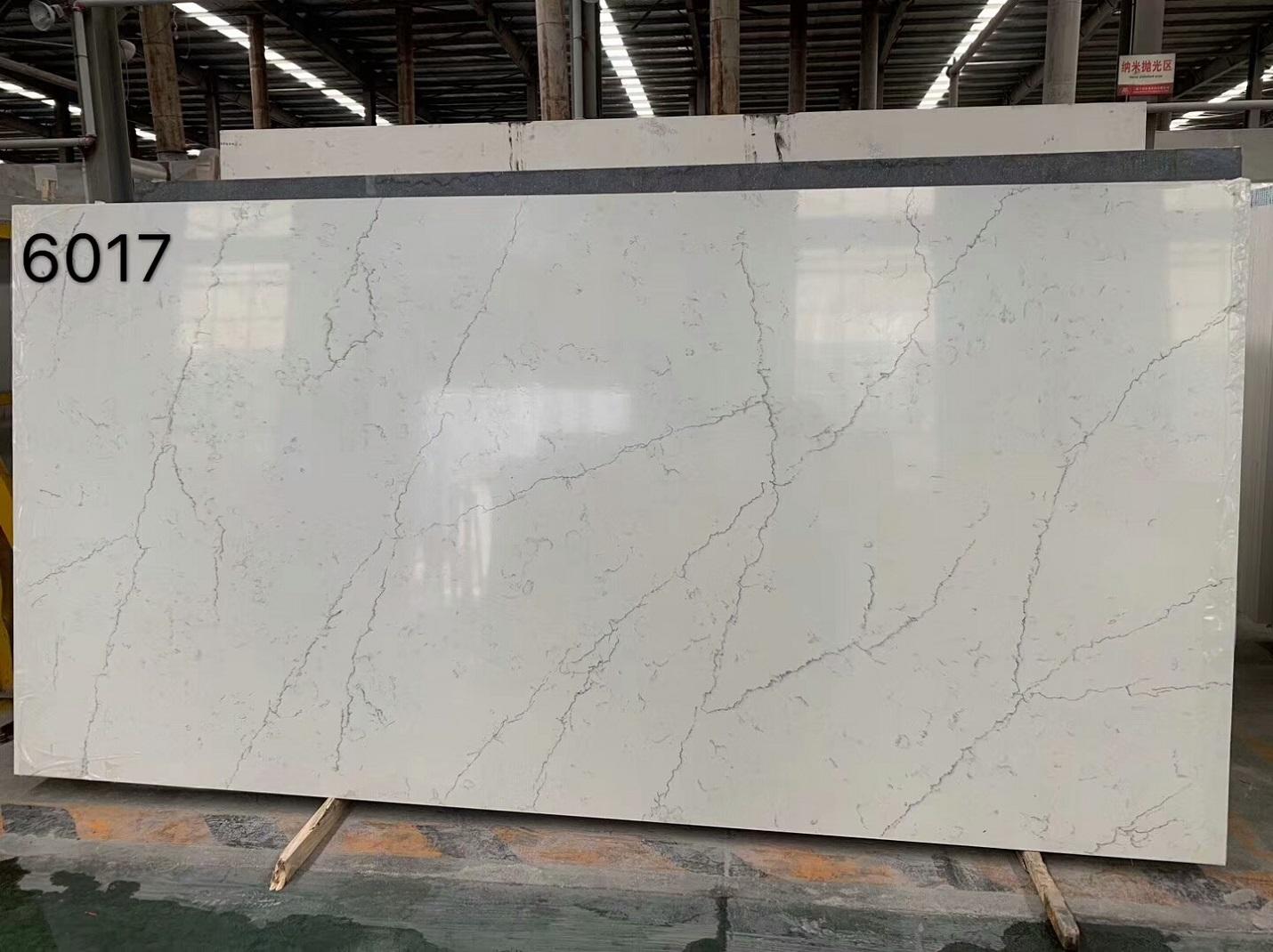 white quartz stone with veins