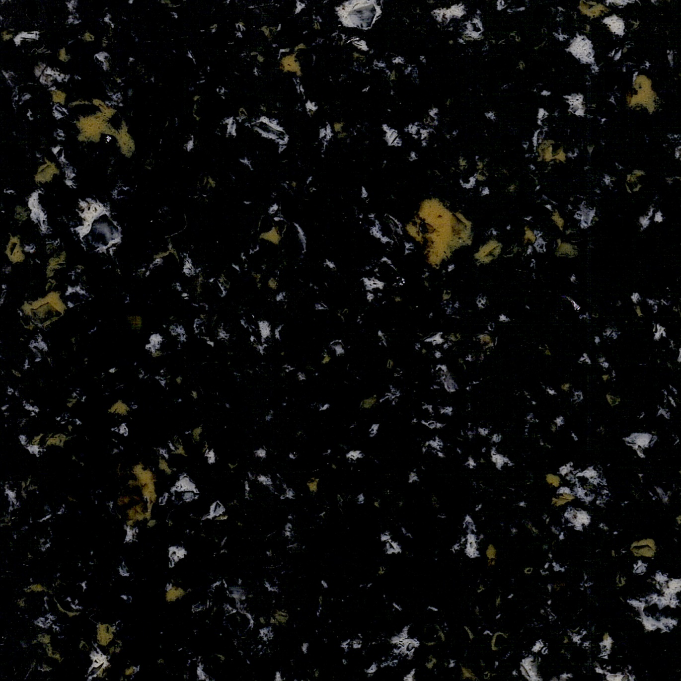 Black Sparkle Color Artificial Quartz Stone Slabs