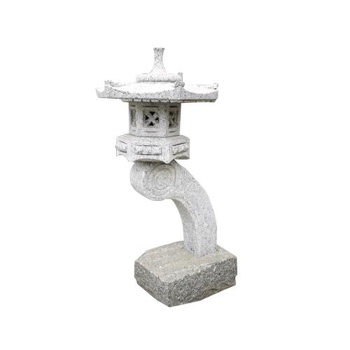 granite carved japanese style stone lantern JN-016