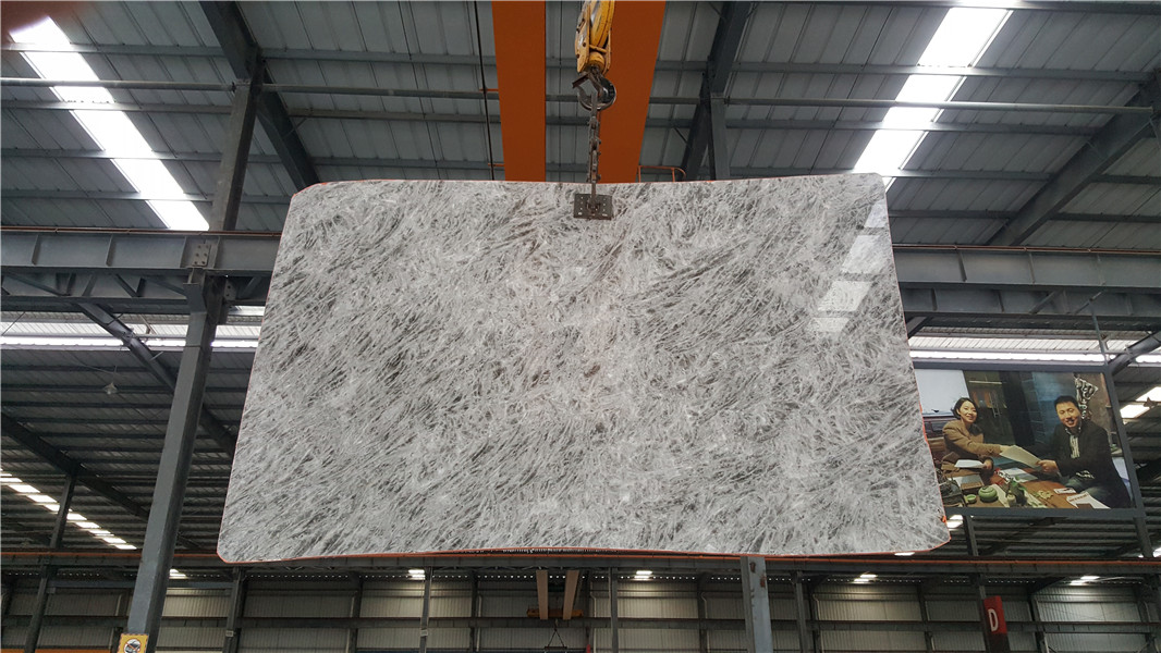 Grey Marlbe Slabs Tiles for Wall Coverings Floor Coverings Countertops