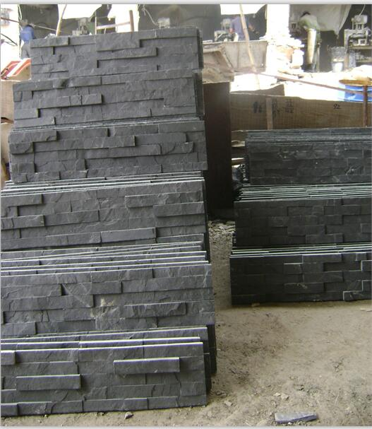 natural slate culture stone for interior or outside wall cladding