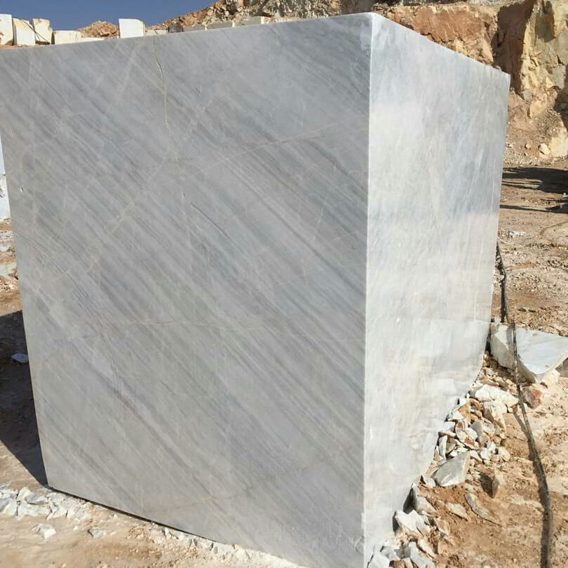 Crystal White Marble Stone Blocks