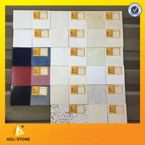 Raw material Artificial marble tile