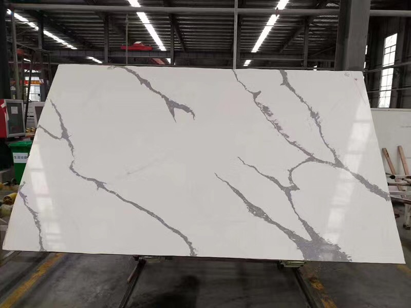 Good Quality Artificial Calacatta Quartz Stone