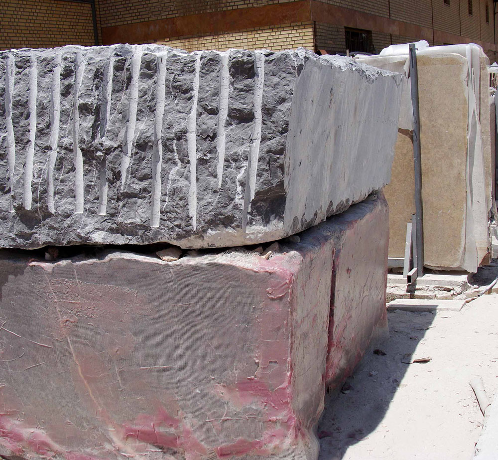 Pietra Gray Marble Blocks Iran Grey Marble Blocks