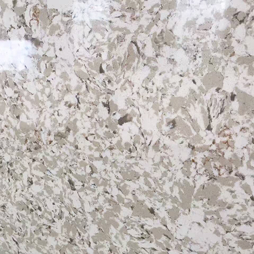 New marble look artificial type quartz slabs China