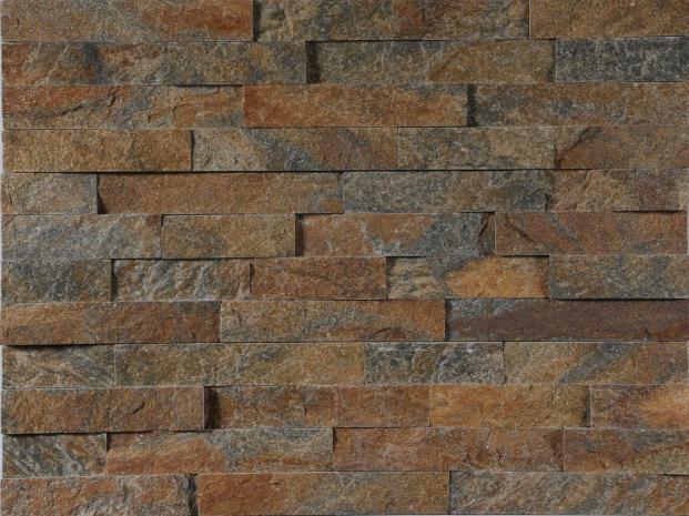 Rusty quartz culture stone panel