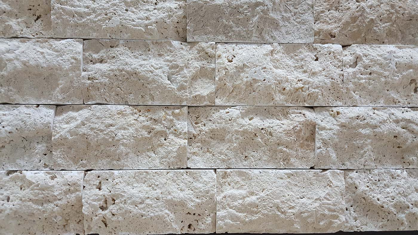 Classic Travertine Explosive Stone 7.5 X 15 CM