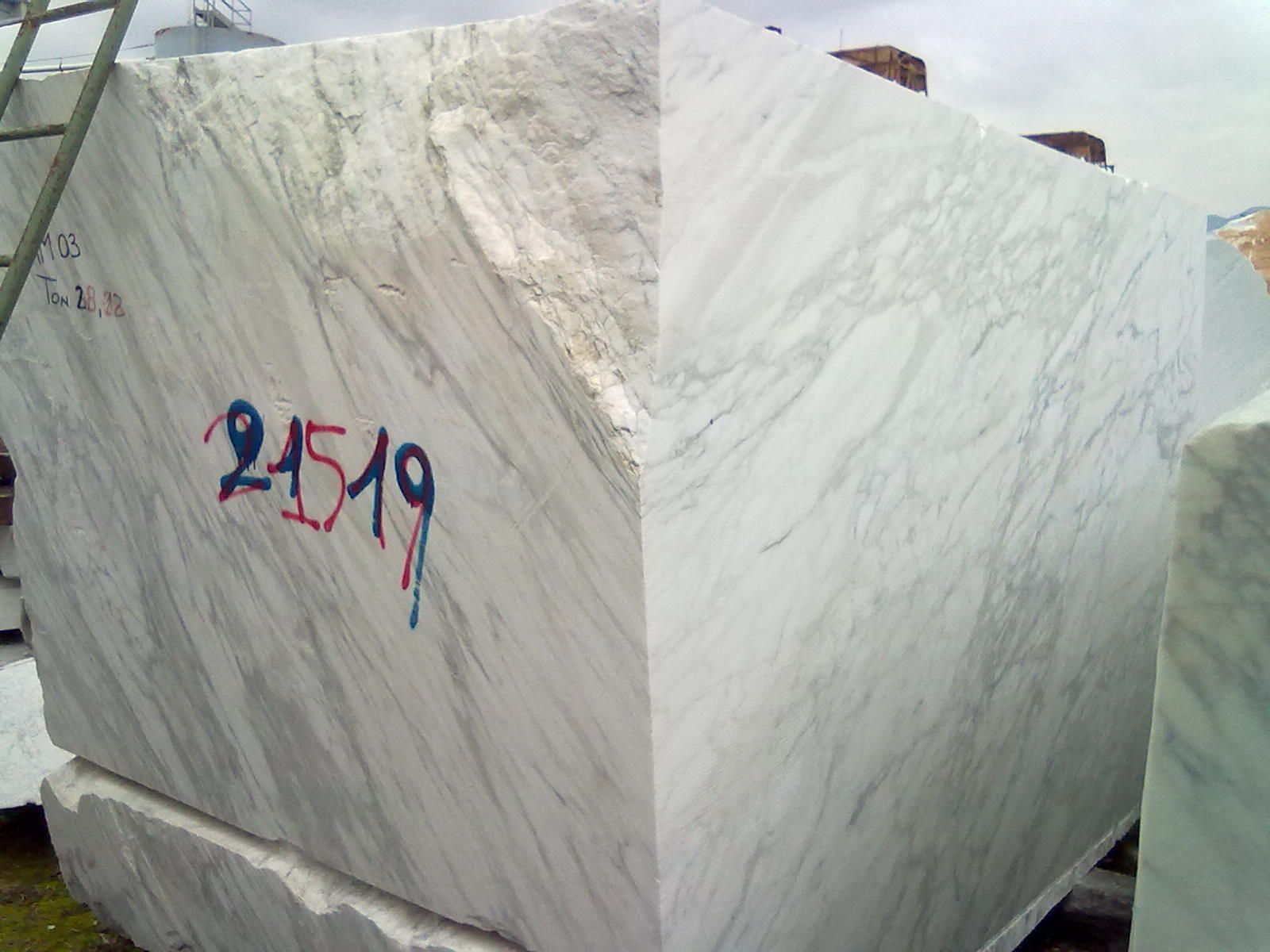 Block Bianco Carrara Arabescato Calacatta Stato Blocks