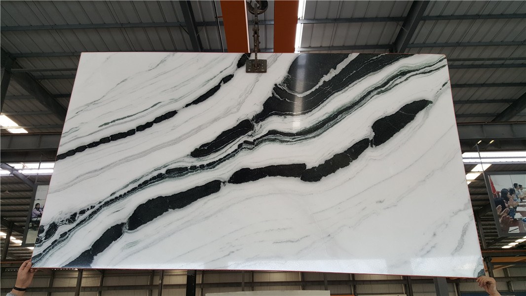 Panda White Marble Chinese White Marble for Wall coverings & Floor Coverings Countertop