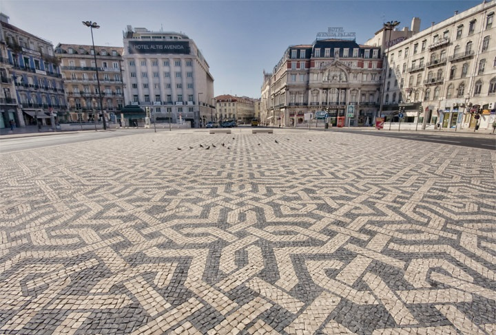 Portuguese Traditional Paving cobblestones