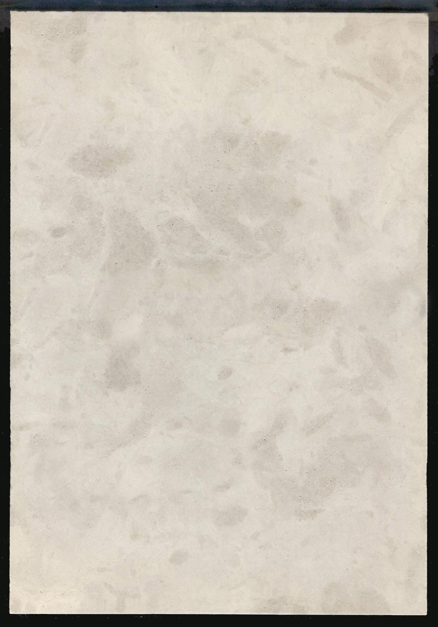 cream limestone with flower