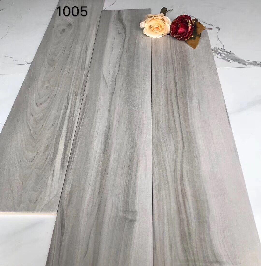 Grey Wooden Porcelain floor tiles 1005