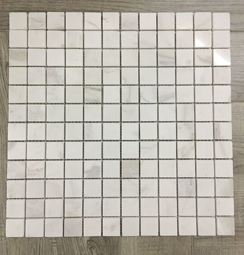 Volakas Mosaic Mosaic Tiles  Marble Mosaic  Stone Mosaic  White Marble Mosaic