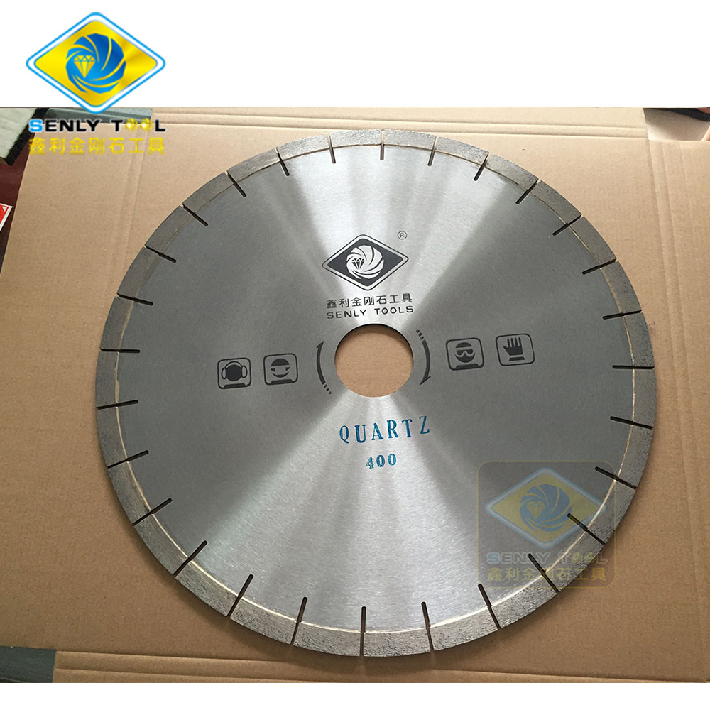 Dia 400mm Diamond Saw Blade for Natural Quartz Cutting