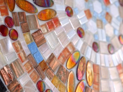 Hot Melt Glass Mosaic