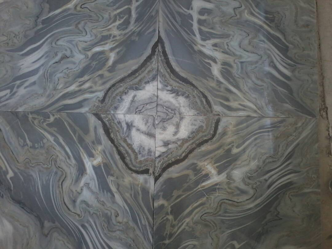 Bookmatch Iranian Marble