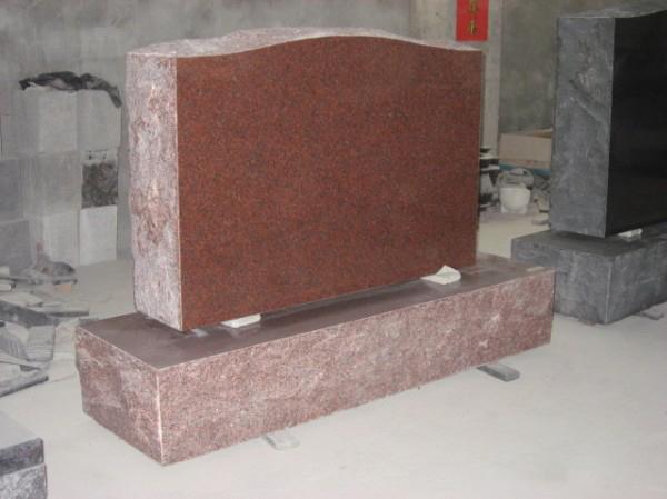 American tombstone  split tombstone