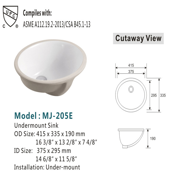 Wash Basins Ceramic Sink