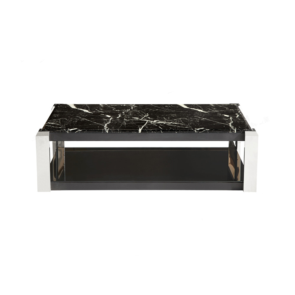 Black Marble Black Portoro Table