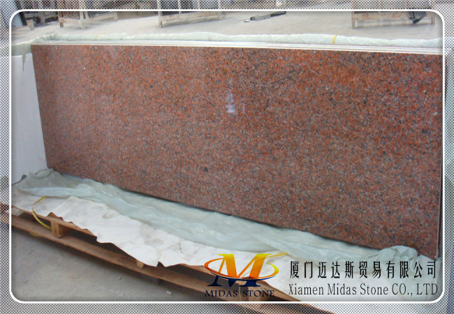 Polished G562 Granite Tiles