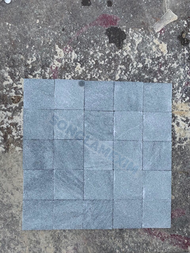 Grey Marble Cobbles