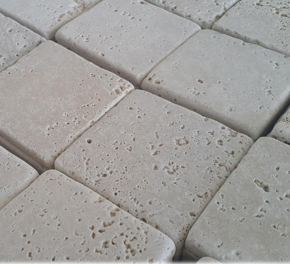 Tumbled Turkish Travertine Tile